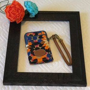 Fossil Phone Case Wristlet Carry All
